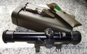 Zielfernrohr Hensoldt Fero ZF Modell 2 mit Stanag Montage - sniper scope and mount. Neuwertig TOP