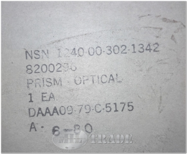 US Armee Prisma optisches Instrument 1240-00-302-1342 PRISM, OPTICAL M48