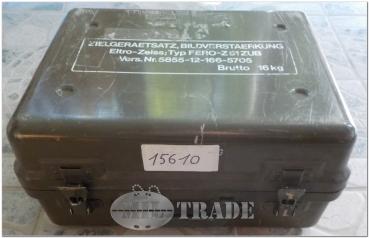 Bundeswehr Transportkiste GFK Wasserdicht Box Behälter Kiste 39,5 x 29,5 x 16