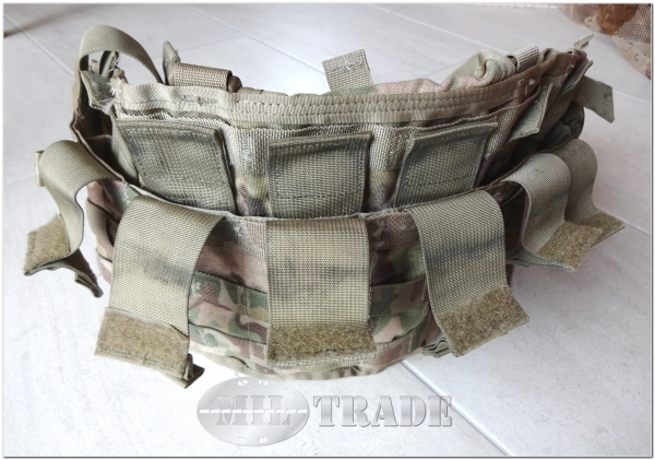 original US Army Ausgabe TAP Plate Carrier Chest Rig modulares Tragesystem MOLLE II