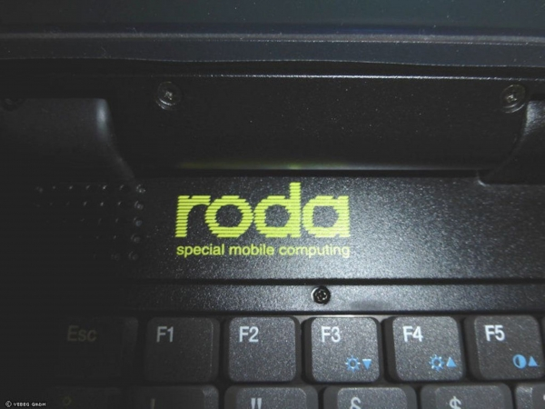 BW Outdoor IP54 Laptop Roda Rocky II+, RT886EX in Zarges Box K470 mit Notebooktasche