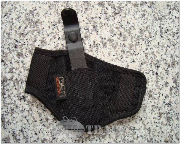 "Uncle Mike's Sidekick® Super Belt Slide Holster 3"" - 4.75"" Pistole 4"" Revolver. Leicht genutzter LKA Bestand"
