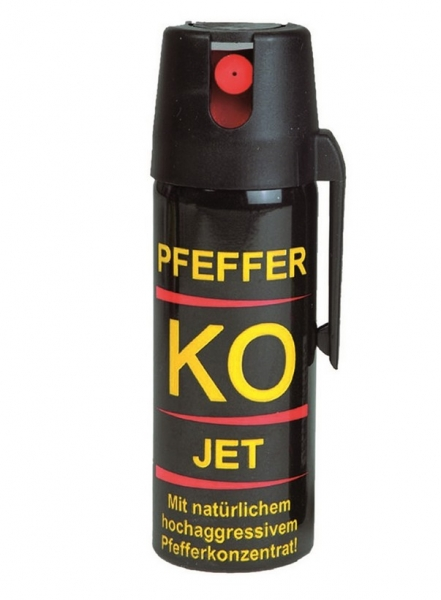 miltrade pfeffer spray ballistol k o jet 50 ml auch f r. Black Bedroom Furniture Sets. Home Design Ideas