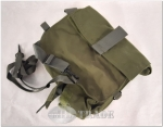 US-Armee Carrying pouch Mask Gasmaskentasche Gasmaske M40 Zustand GUT!