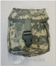 ORIGINAL U.S. Armee individual first aid kid pouch Molle II ACU AT Camo - Erste Hilfe Tasche